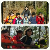 Ms. Gilfillan's class went to McDaniel Farm Park for community skills on Thursday and enjoyed walking at the park.