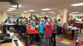 Book Fair in full swing