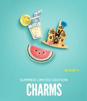 Summer limited edition charms!