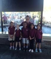 1st Grade Math Bowl Team