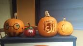Book Character Pumpkin Contest  Winners