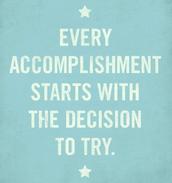 accomplishment