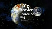 New Earth is way Bigger
