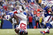 Buffalo Bills vs The  New York Giants