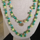 Copa Jade Lariat Necklace $120 now 48 SOLD