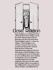 Closet Religion