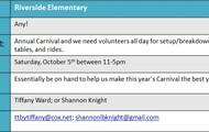 Riverside Elementary Carnival