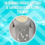 Congratulations to our US SHINE BRIGHT T-SHIRT EARNERS!!!