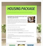Housing Package at 350eur flat.