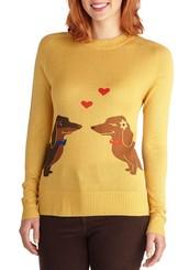 Wiener Takes It All Sweater