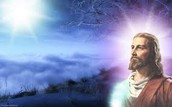 Jesus' brightness