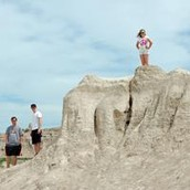 South Dakota Vacation at Badlands Loop