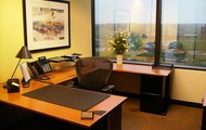 single executive window office
