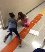 Finding the Perimeter with Shapes in the Hall