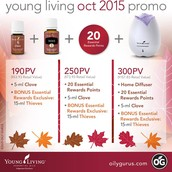October Monthly Promo
