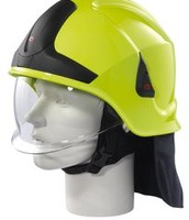 SAFETY HELMET FOR FIRE EXTINGUISHER
