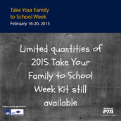 "Start planning now for ""Take Your Family to School Week"""