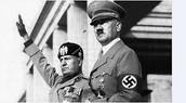 Hitler and Benito