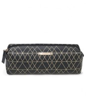 Pouf Slim - Black/Gold $25