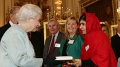 Queen Elizabeth And Malala
