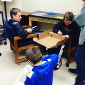 FSMS Makerspace students on...