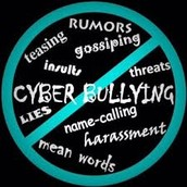 Effects of cyber bullying.