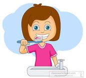 Me lavo los dientes