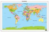 Wereldkaart (Bron 3)