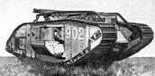 British Marl V tank