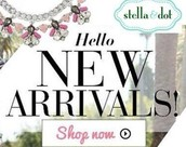 Shop the new Fall Stella and Dot Line!!