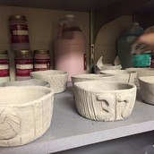 Ceramic bowls in Art