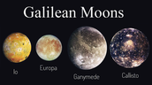 These are the Galilean Moons