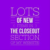 Visit the Closeout Section