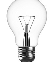 regular light bulb