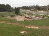 Garden before...