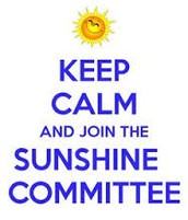 Sunshine Committee - UPDATE and Dues Info
