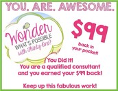 You earned your $99 back!!! You are awesome!!!