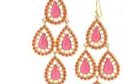 Seychelles Chandelier Earrings in Pnk or Blue, $49