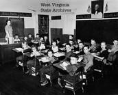 1950s classroom