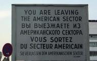 Leaving American Sector