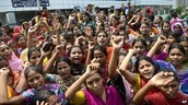 Garment workers demanding higher wages in Bangladesh