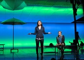 "Idina Menzel and Anthony Rapp in ""If/Then."""