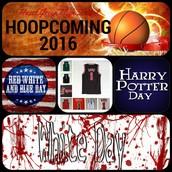 Hoopcoming Dress-Up Days