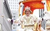 Krewe of Rex King in Parade
