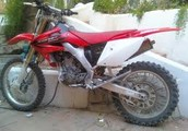 This motorcycle is for sale today!