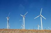 wind mills in soiL