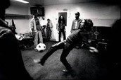 Bob Marley al estudi.