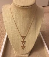 Pave Spear Pendant Necklace $29.50