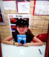 Makenna's book signing at Morrish Elementary