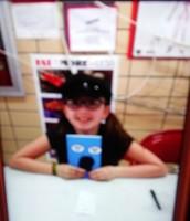 Makenna's book signing at Morrish Elementary